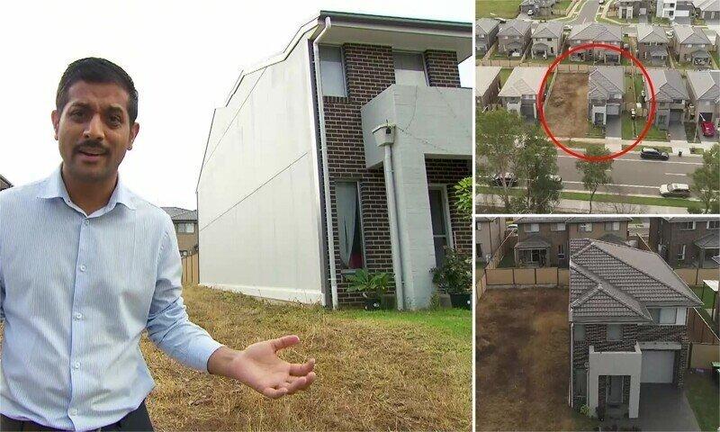 Мужчина из-за нелепой случайности купил только половину дома