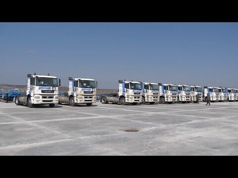Седельные тягачи КАМАЗ-5490 NEO — для компании «Газпром гелий сервис»