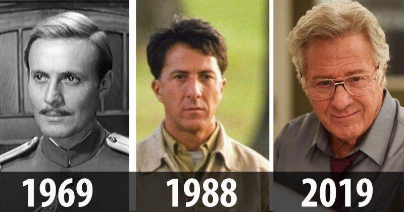 12 знаменитых актеров сегодня и в своих лучших ролях