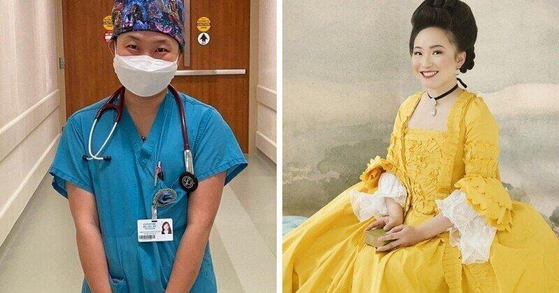 Врач-анестезиолог в свободное время шьёт платья