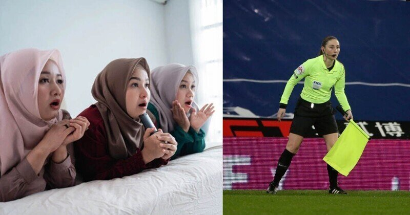 Футбол без ног: иранская цензура порезвилась на матче