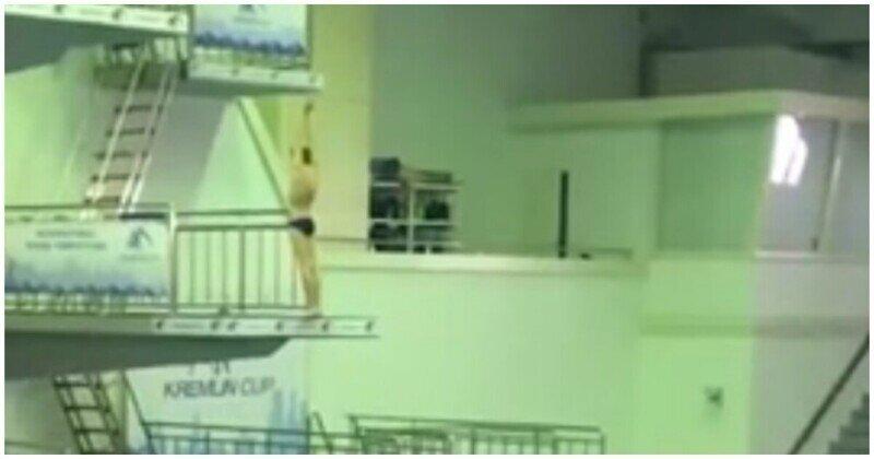 Юный спортсмен ударился головой о вышку во время соревнований по прыжкам в воду