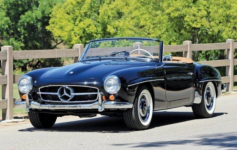 Mercedes-Benz 190SL 1957 года выпуска сгнил в труху, но еще стоит приличных денег