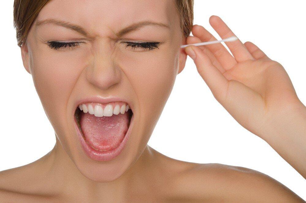 Кашель как реакция на чистку ушей