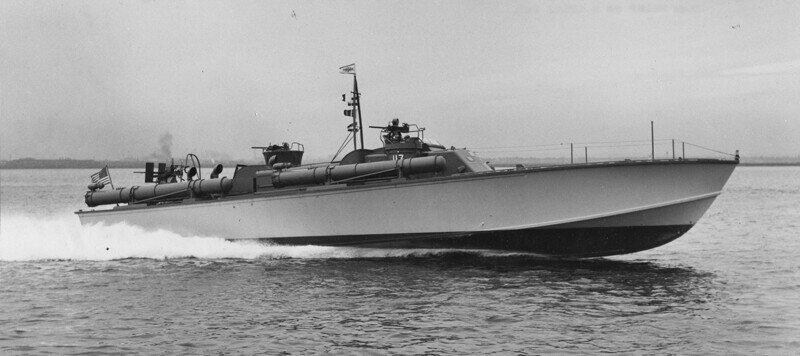 Таран в летнюю ночь. Американский катер против японского эсминца