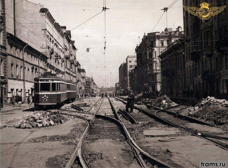 Ленинград 1952 года