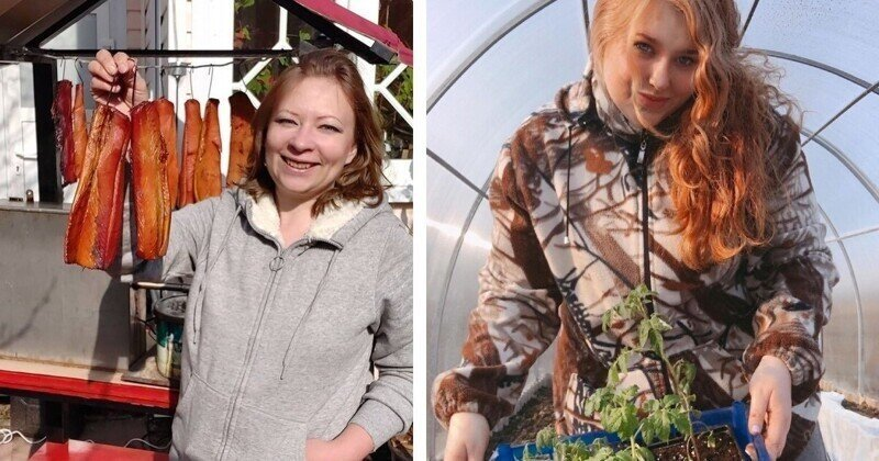 Что российские женщины делали на дачах в эти выходные