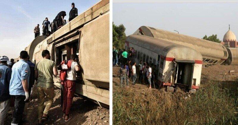 Уж лучше на верблюдах: в Египте снова железнодорожная катастрофа с жертвами