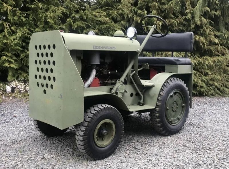 Hebard A14V Shop Mule 1942: как фермерский трактор превратился в аэродромный тягач