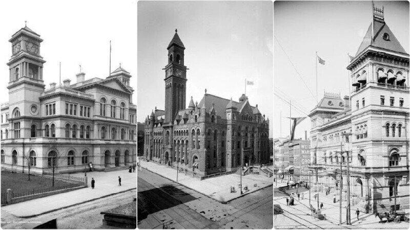 25 потрясающих зданий почты США, фотографии начала XX века