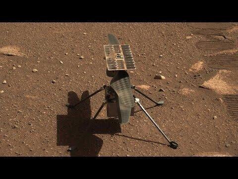 Сегодня - День рождения марсианской авиации! Марсианский вертолёт Ingenuity взлетел!
