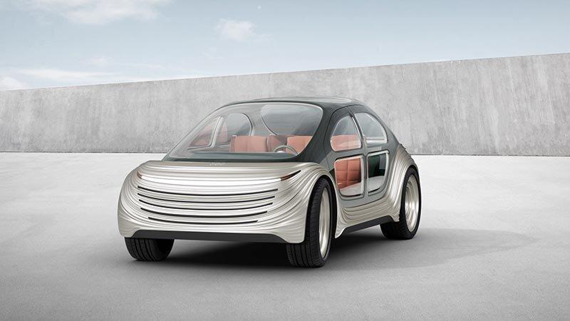 Британцы показали электромобиль Airo, который фильтрует грязный воздух во время движения