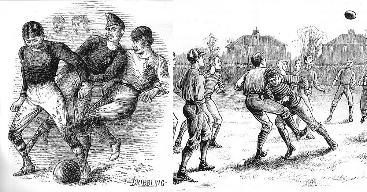 5 фактов об истории футбола