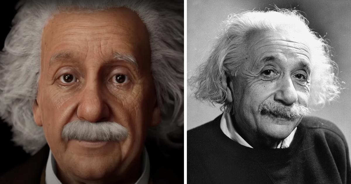 Альберта Эйнштейна вернули к жизни: ученый болтает с фанатами и отвечает на вопросы о физике