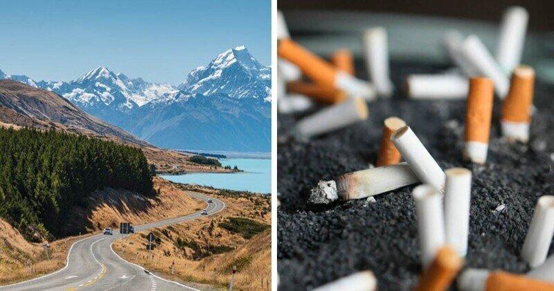 В Новой Зеландии запретят продавать сигареты людям 2004 года рождения