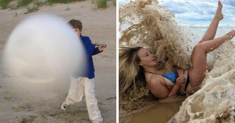 Забавные фото, которые получились случайно