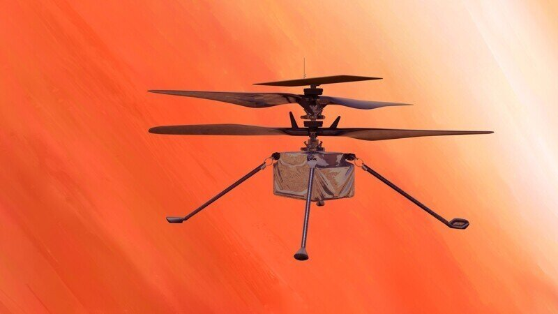 Дрон, который смог. Первый полёт вертолёта Ingenuity на Марсе прошёл успешно
