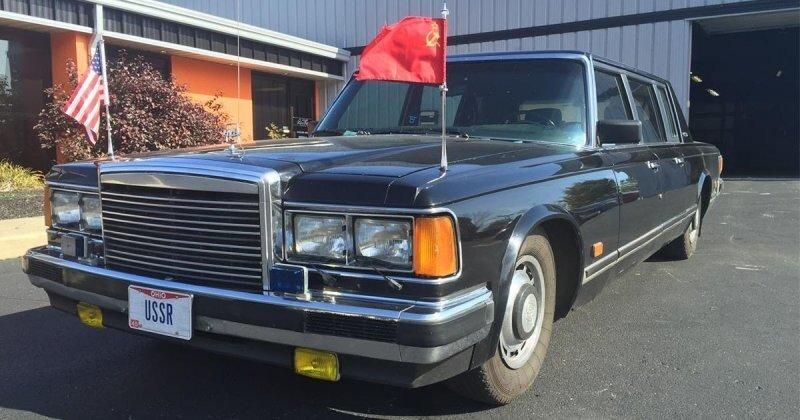 Советский лимузин ЗИЛ в неплохом состоянии продается в США