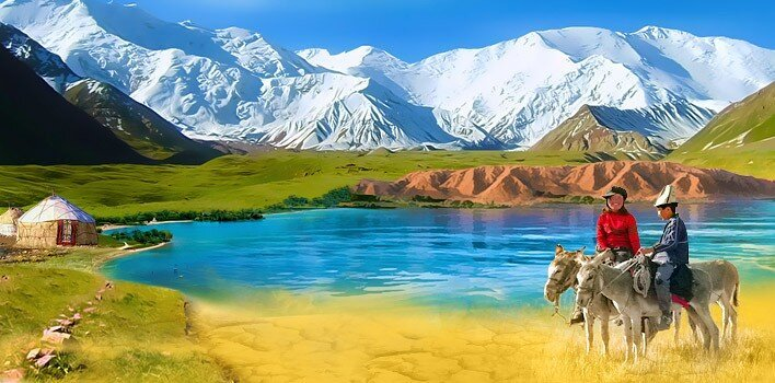 30 крупнейших городов Киргизии