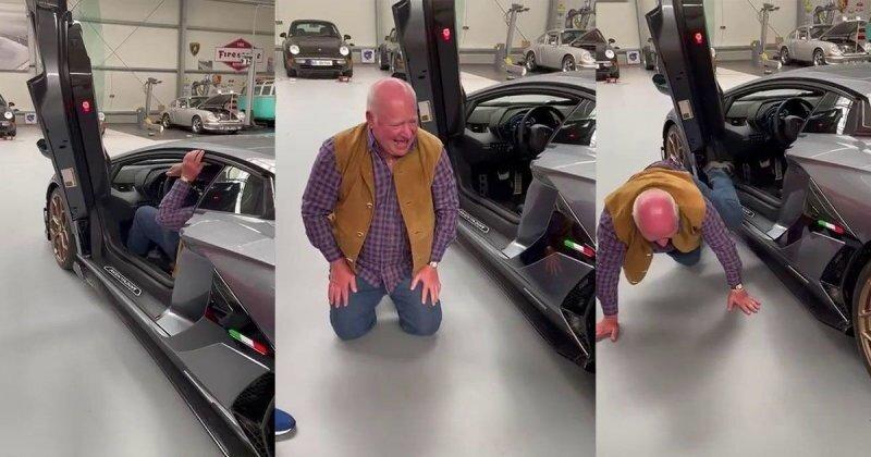 Когда накопил достаточно денег на Lamborghini, но уже слишком стар