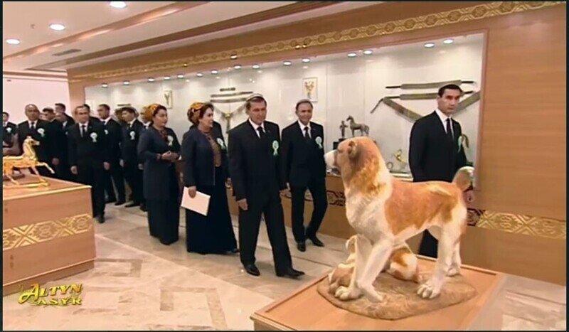 «Заслуженный собаковод Туркменистана»