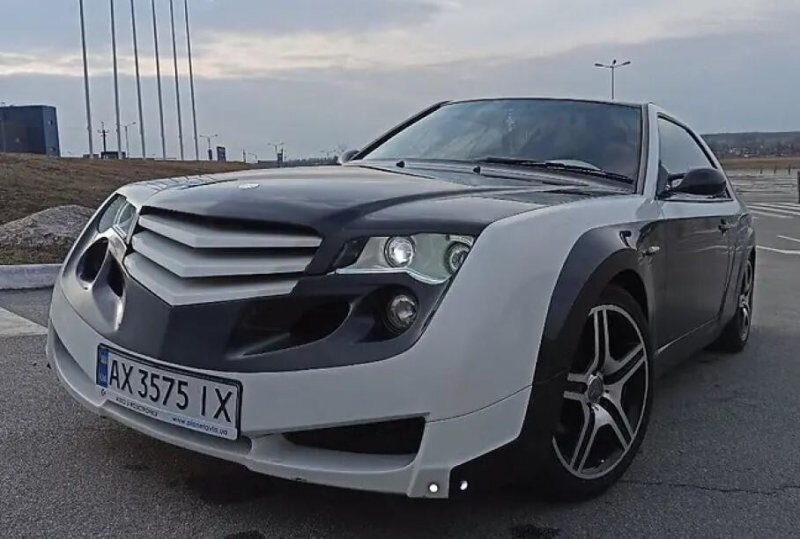 Mercedes-Benz E-Class модифицировали до неузнаваемости и хотят продать