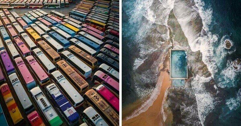 Британец делает потрясающие фотографии с помощью дрона