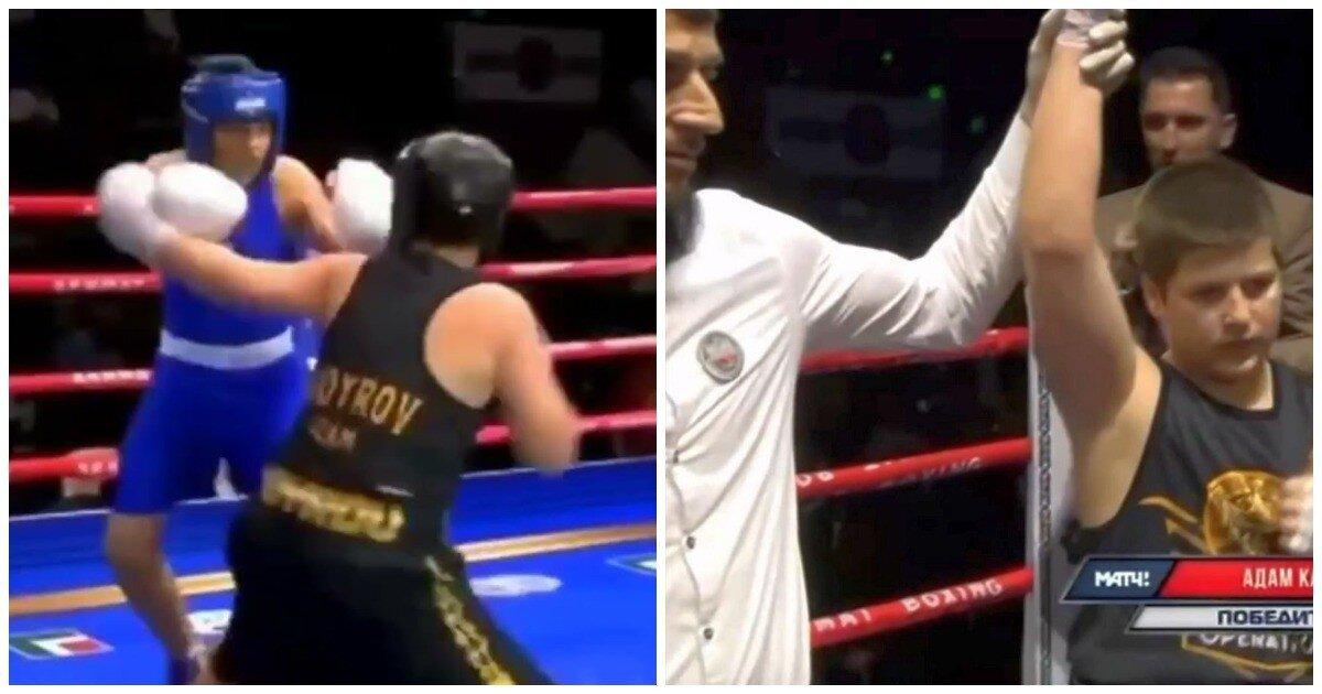 Сын Кадырова согласился на реванш после обвинений в нечестной победе