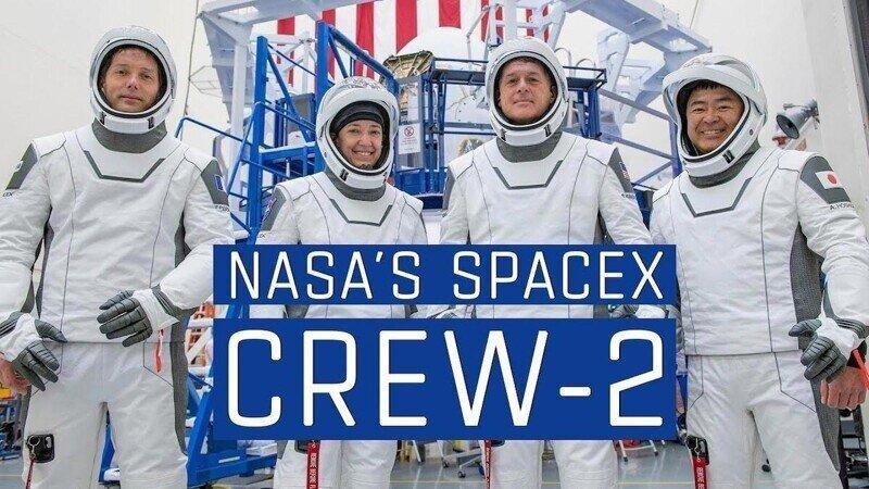 SpaceX запустили очередной экипаж к МКС