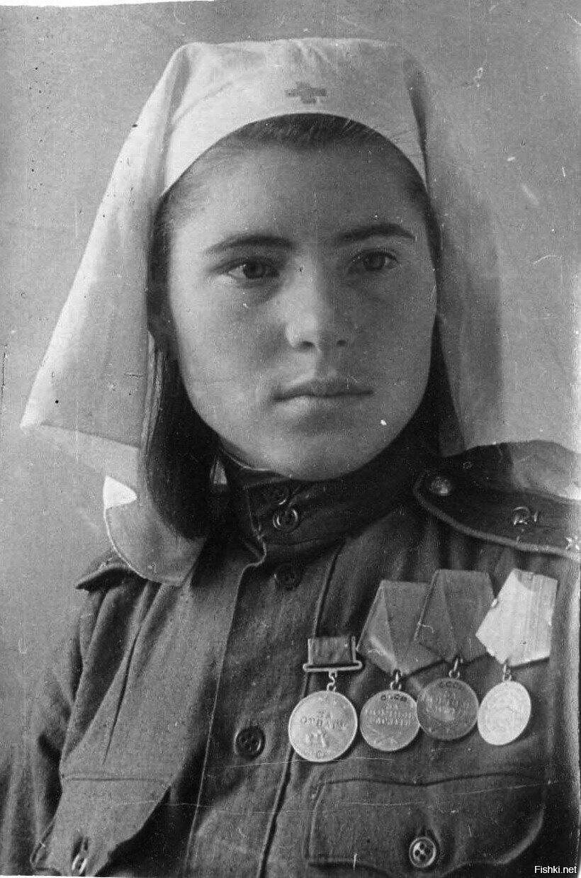 Сестра милосердия,лейтенант медицинской службы Ольга Ивановна Брызгалова