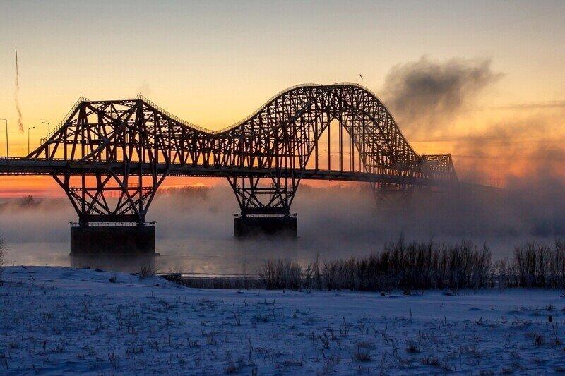 Такие разные и красивые мосты России