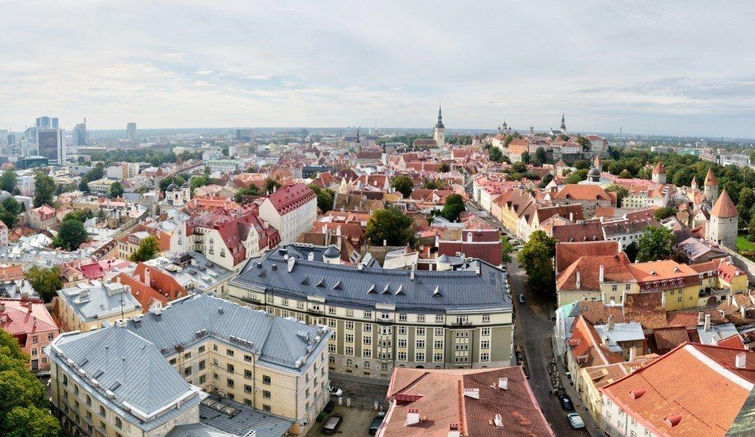 25 крупнейших городов Эстонии