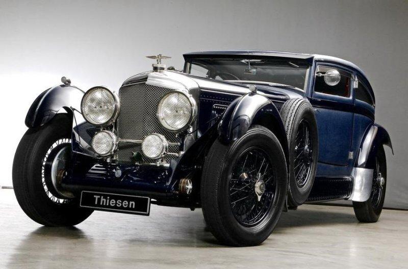 Копию одного из самых знаменитых Bentley выставили на продажу
