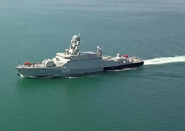 Синяя вечность от Черноморского флота РФ