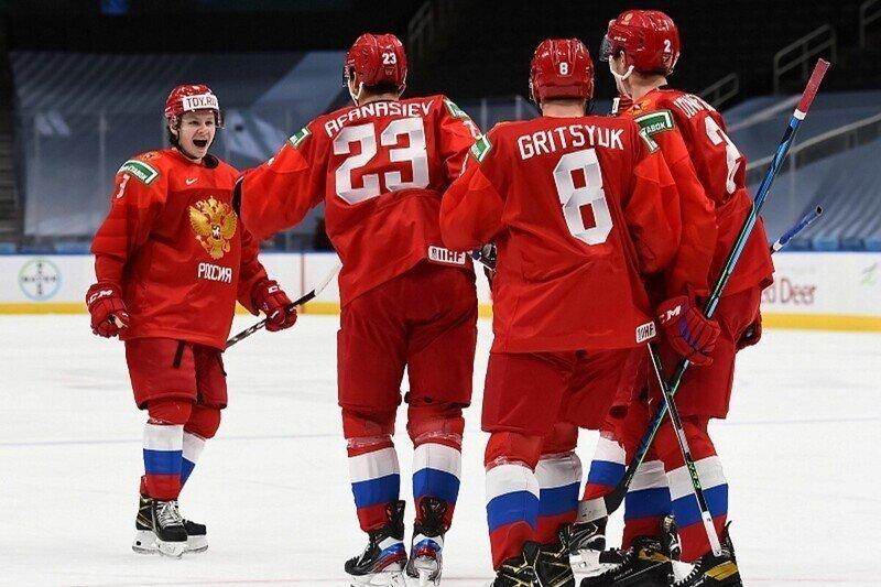 Россия обыграла американцев в матче по хоккею со счетом 7:6, уступая по ходу встречи 1:5