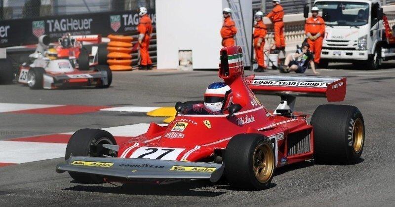 Жан Алези разбил болид Ferrari Ники Лауды во время исторической гонки в Монако