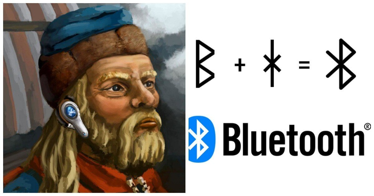 Откуда взялся логотип технологии Bluetooth, и при чем тут викинги