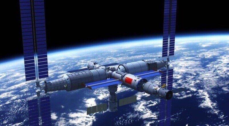Китай запустил на орбиту собственную космическую станцию