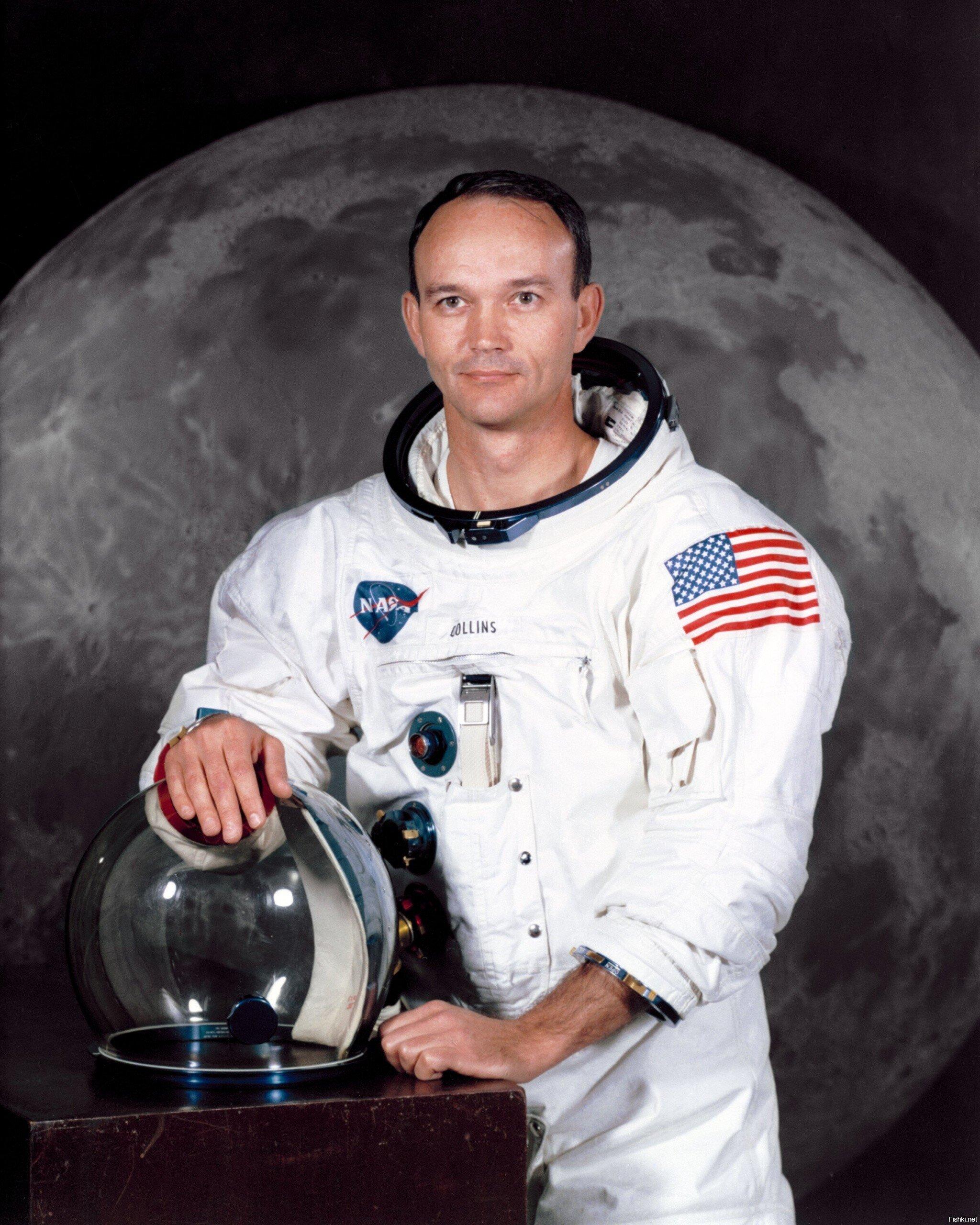 Умер летавший на Луну астронавт Майкл Коллинз
