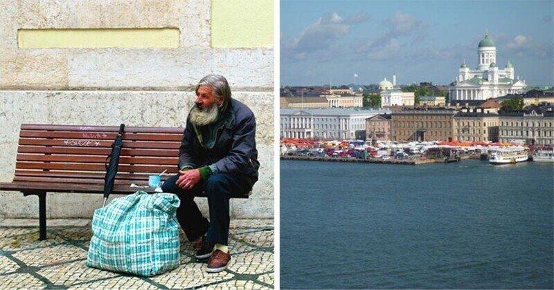 В Финляндии почти не осталось бездомных