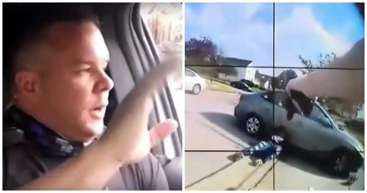 Застреливший чернокожую преступницу полицейский записал видео и высмеял своих критиков