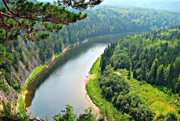 40 крупнейших рек России
