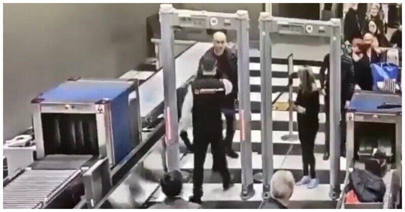 Мужчина не захотел стоять в очереди на досмотр и чуть не устроил драку с охраной аэропорта