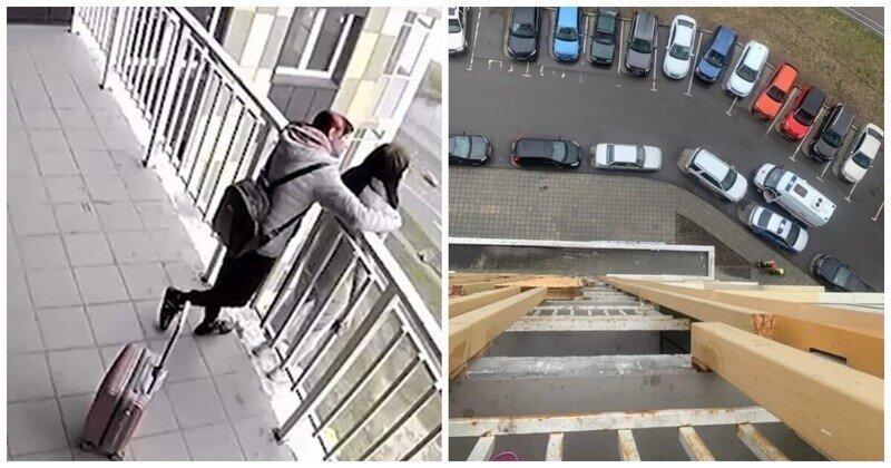 В Москве спасли девушку, которая собиралась спрыгнуть с 18 этажа