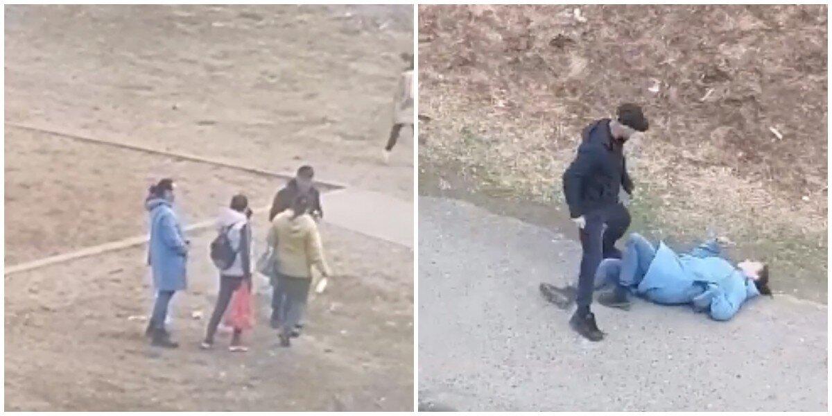 В Пермском крае сняли на видео пьяную мать, которая еле держалась на ногах