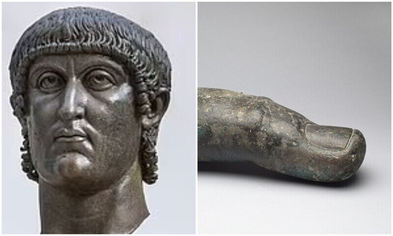 Статуе Константина Великого спустя 500 лет вернули палец
