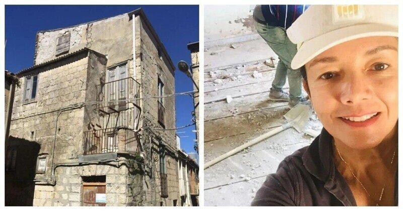 Женщина воспользовалась выгодным предложением и купила дома в Сицилии по одному евро