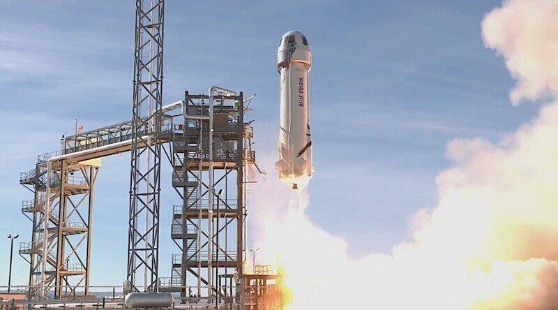 Blue Origin Джеффа Безоса отправит первых космических туристов 20 июля