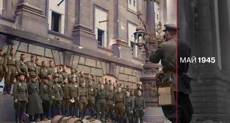 RT опубликовал цветную хронику времен Великой Отечественной войны