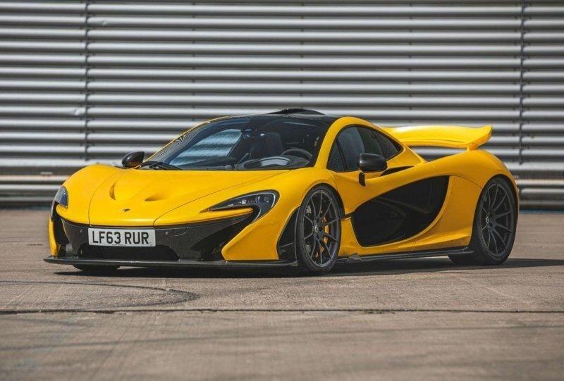 Первый в истории McLaren P1 будет продан на предстоящем аукционе в Сильверстоуне